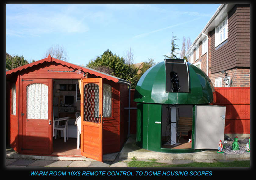 Observatory Warm Room And Dome