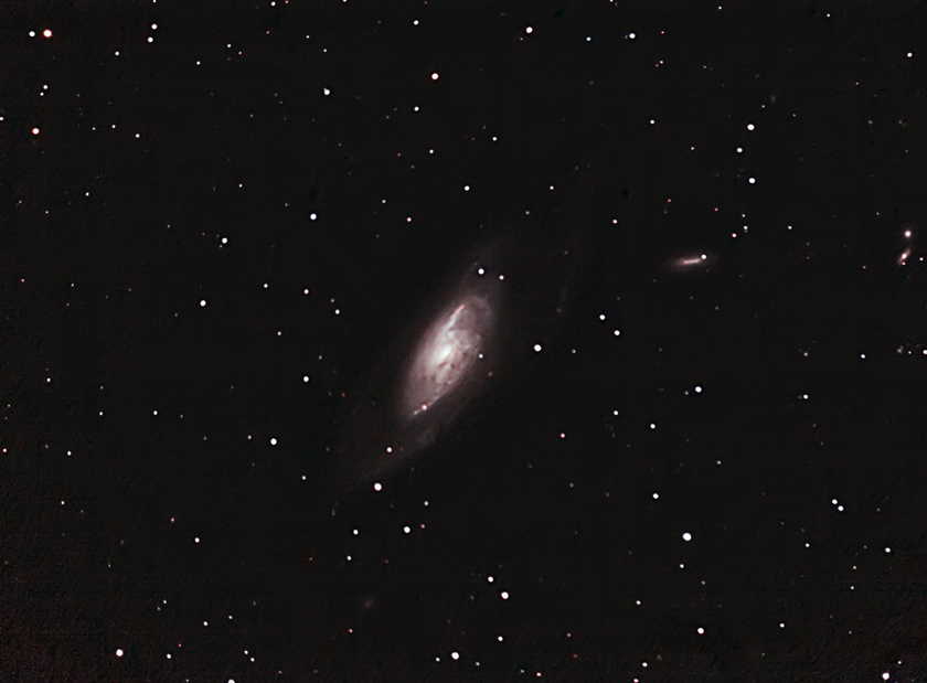 M106 - C9.25 at F6.3 + Canon 350D