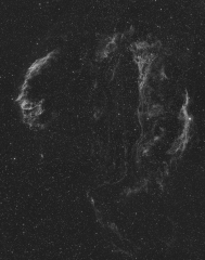 Six panel mosaic of the Veil Nebula