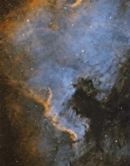 NGC7000 HSTpalette WIP