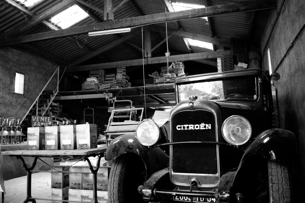 Old Citroen - French Wine Shop