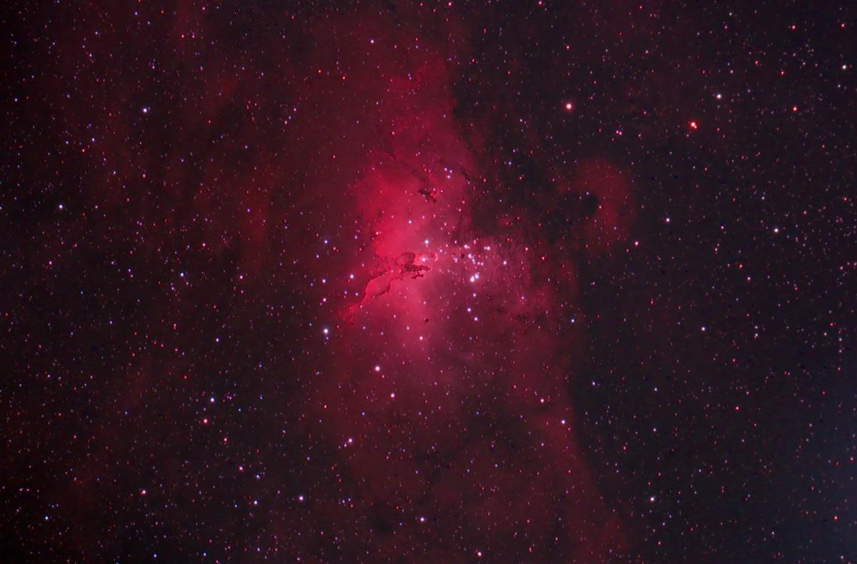 Eagle Nebula Final Image (85 frames)
