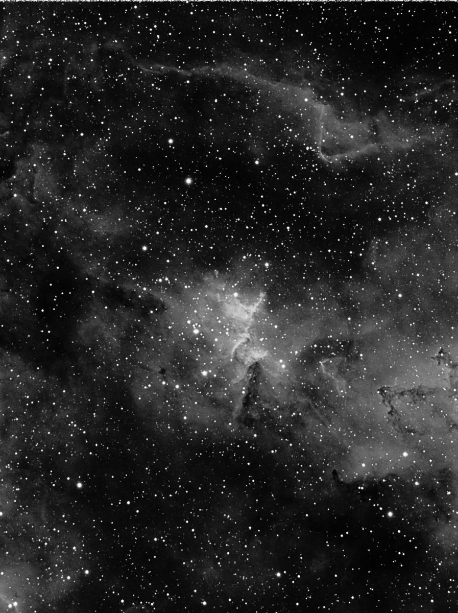 IC1805 Ha (Borg 77ED First Light)