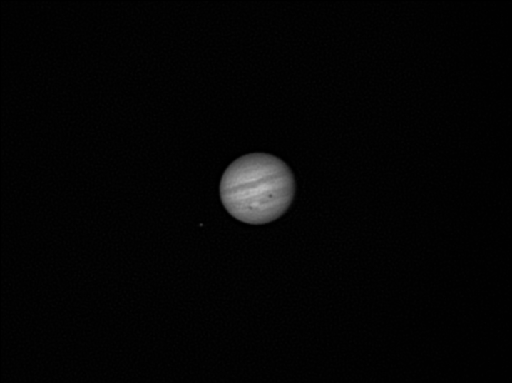 Jupiter:  Double-shadow transit of Europa and Io.  12th June 2011.