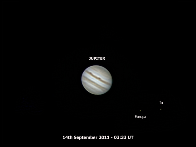 jupitercolour europa io 14th Sept