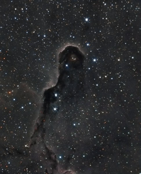 IC1396 - Added 40 minutes of RG&B with the Ha.  Combined the Ha with the Red channel.  Learning PixInsight as I go.