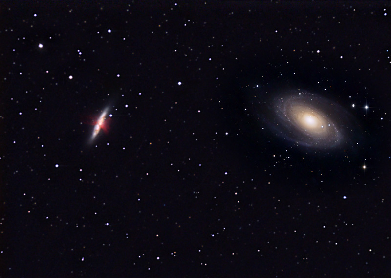 M81 82 LRGB