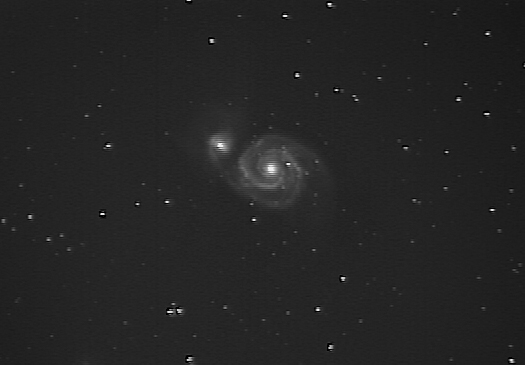 m51 with Meade 127EDT at SGL6