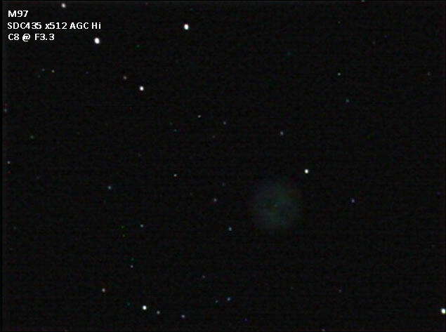 M97 gradient removed and levels adjusted