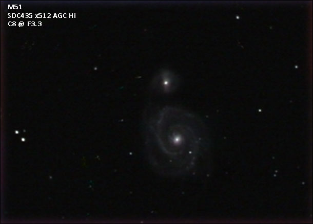 M51 gradient removed and levels adjusted