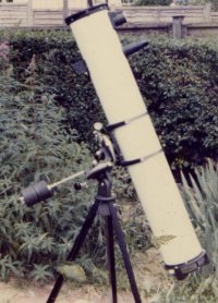 "6"" f8 Charles Franks Reflector My First big telescope Back in 1970's"