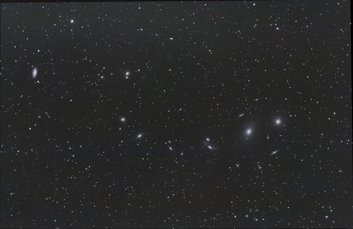 Markarian Chain, (Combo) Herstmonceux and Blacklands total 28 x 5mins 800 ISO