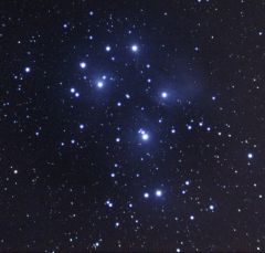 pleiades 3X90sec iso800 darks and flat lights SW st80 canon 1000d