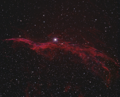 NGC 6960 Portion of Western Veil HaRGB