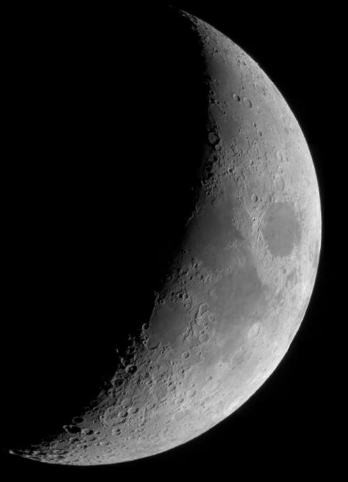 4 day old moon mosaic
