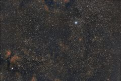 Cygnus region, Zeiss 135mm f/3.5, 450D, CLS, 1h20m