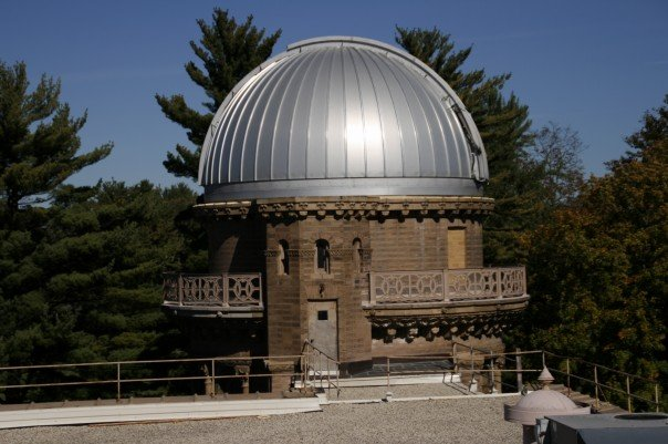 "24"" Reflector Dome at Yerkes Observatory - University of Chicago"
