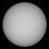 Solar full disk July 27th 2014 full size