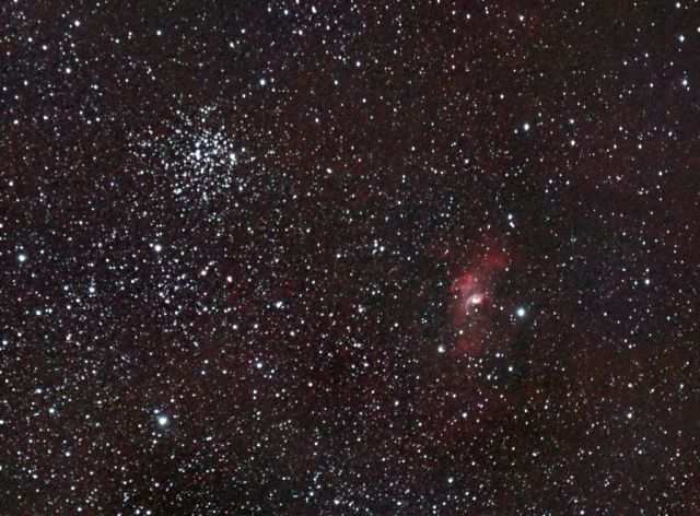 M52 and bubble