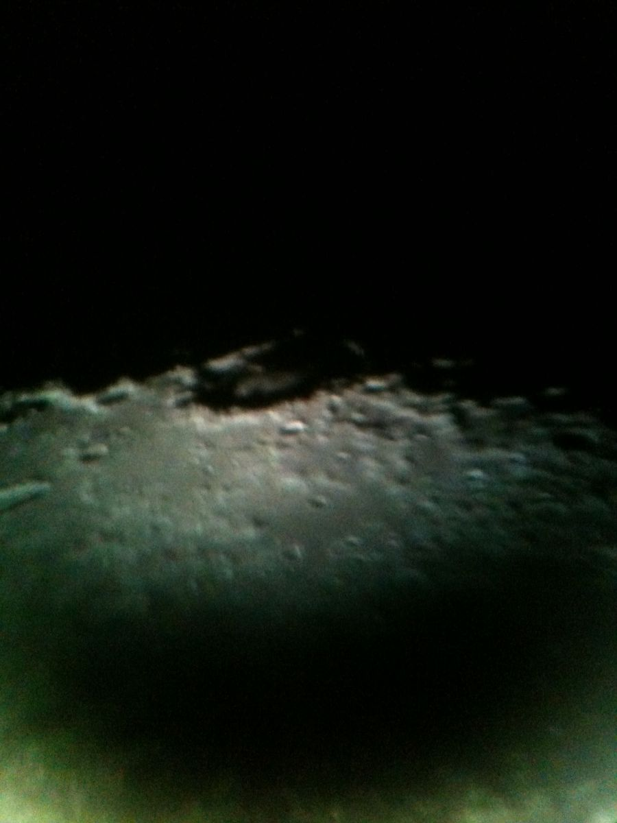 Crater on Moon