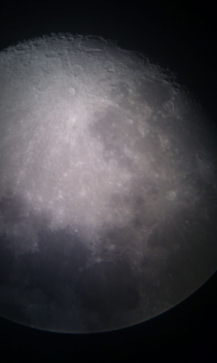 Moon with HTC Desire