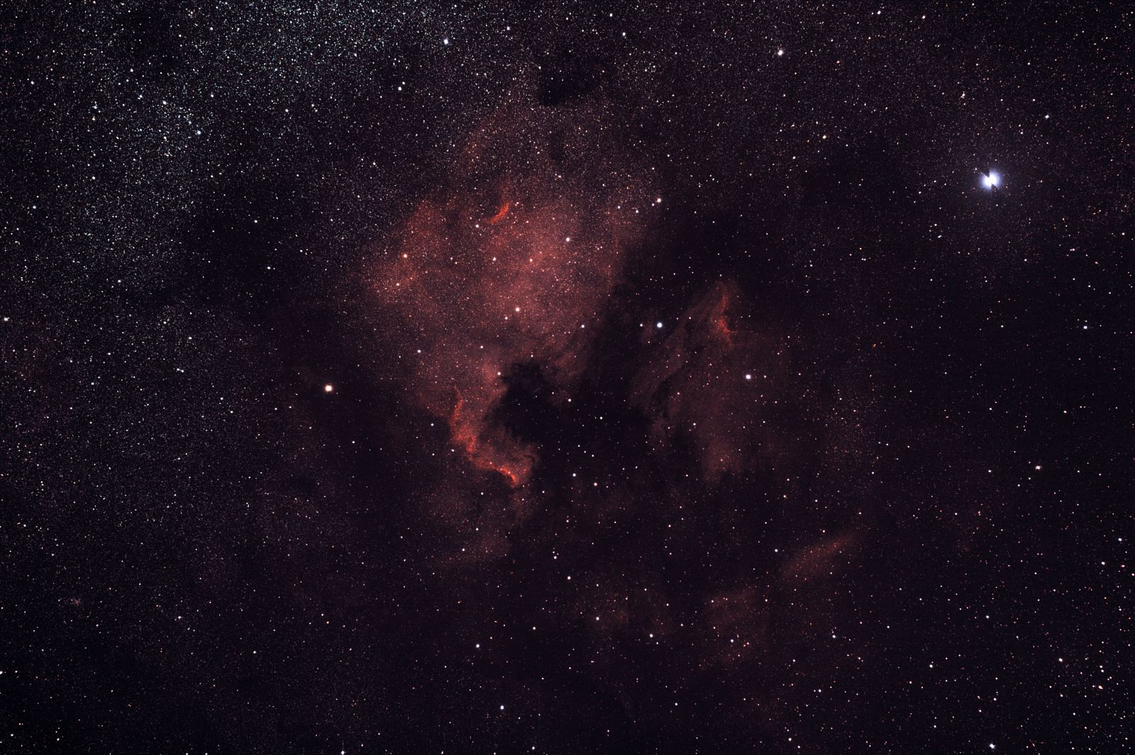 North American Nebula NGC7000