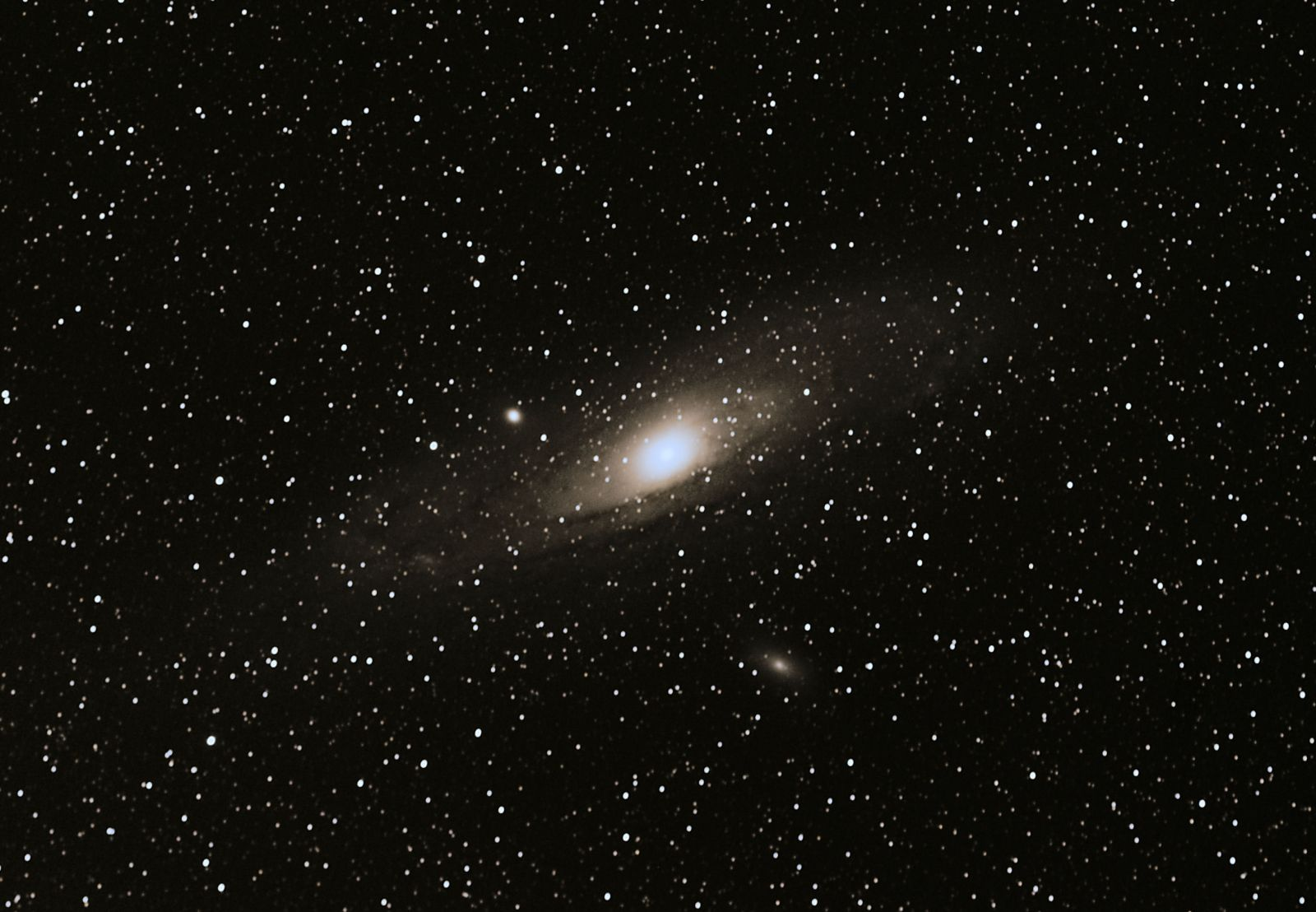 M31 No LPF or Guiding