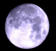 The Moon 28th September 2012 @2155