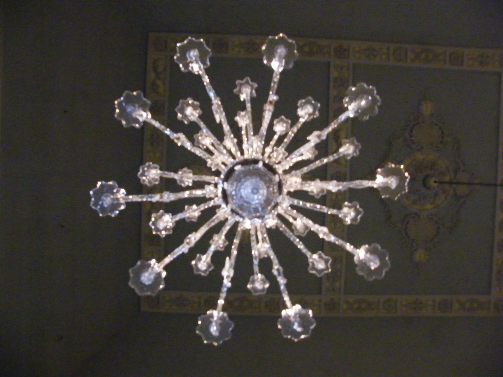 from some other museum a chandelier