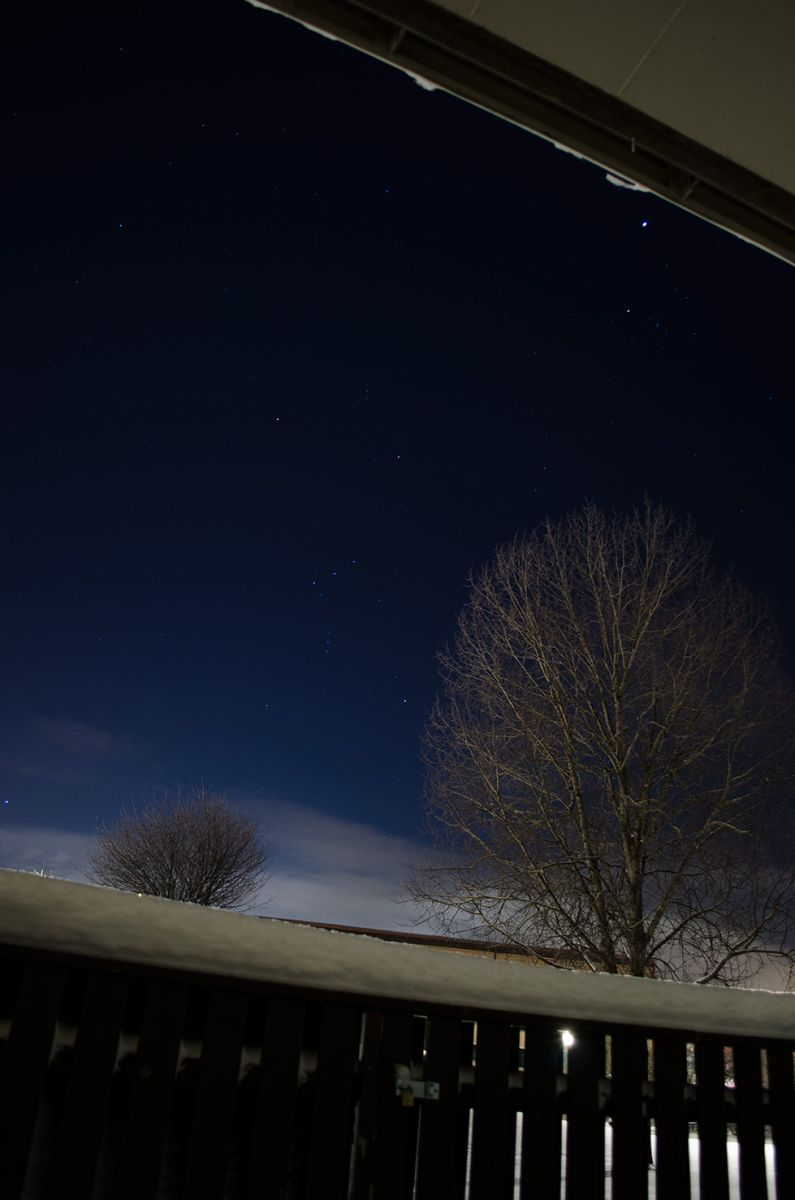 Orion from My living room