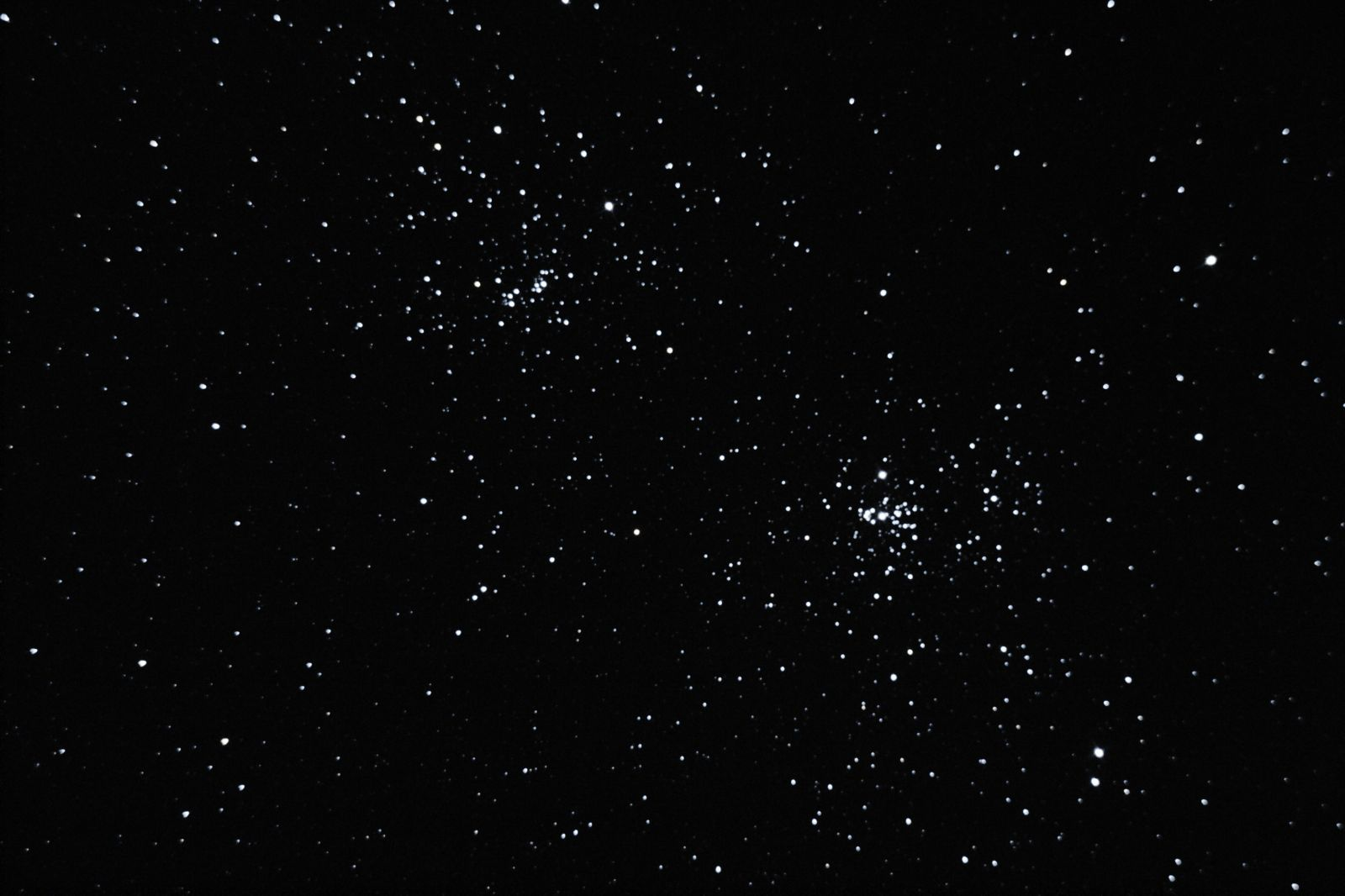 Double Cluster.