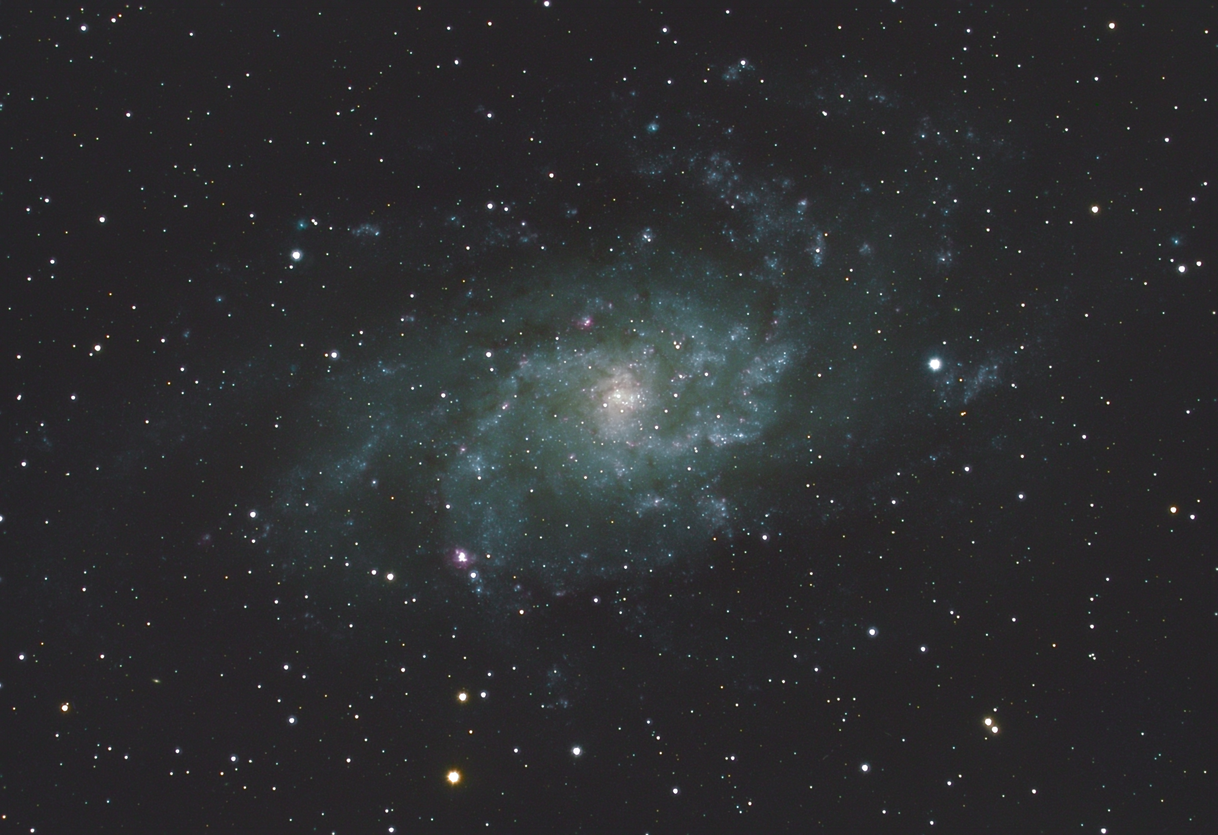 M33 - Luminance channel cleaned up using Lucy-Richardson