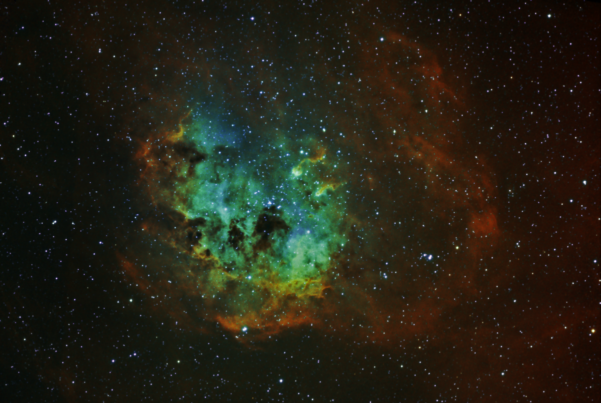 IC410 removed gradient line...