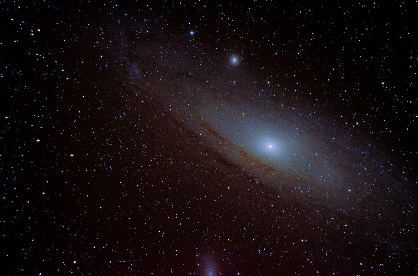 Reprocessed first DSO M31