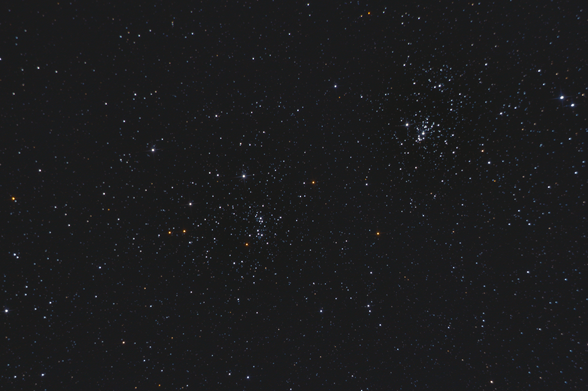 Double Cluster in Perseus 2014-09-05