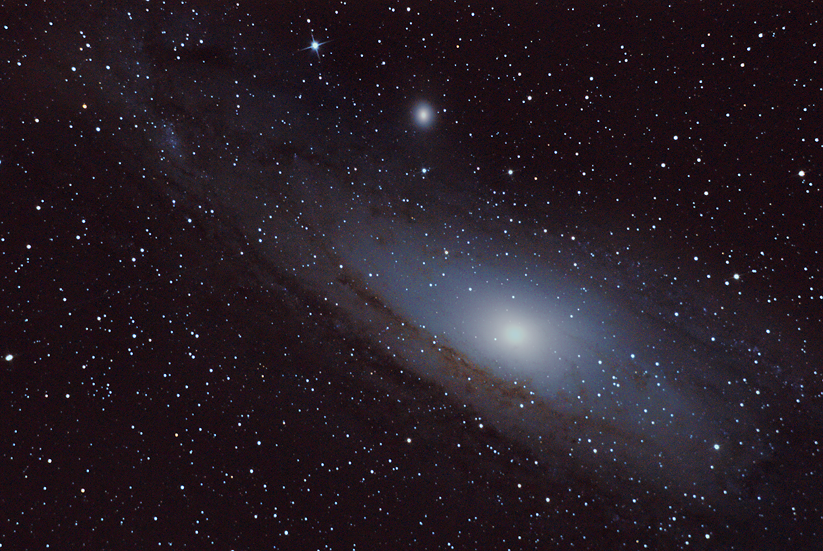 Another playaround with M31, old data