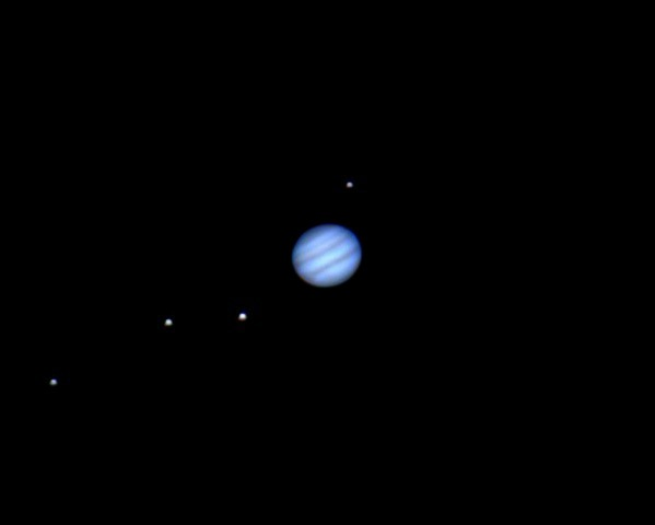 Small Jupiter And Moons