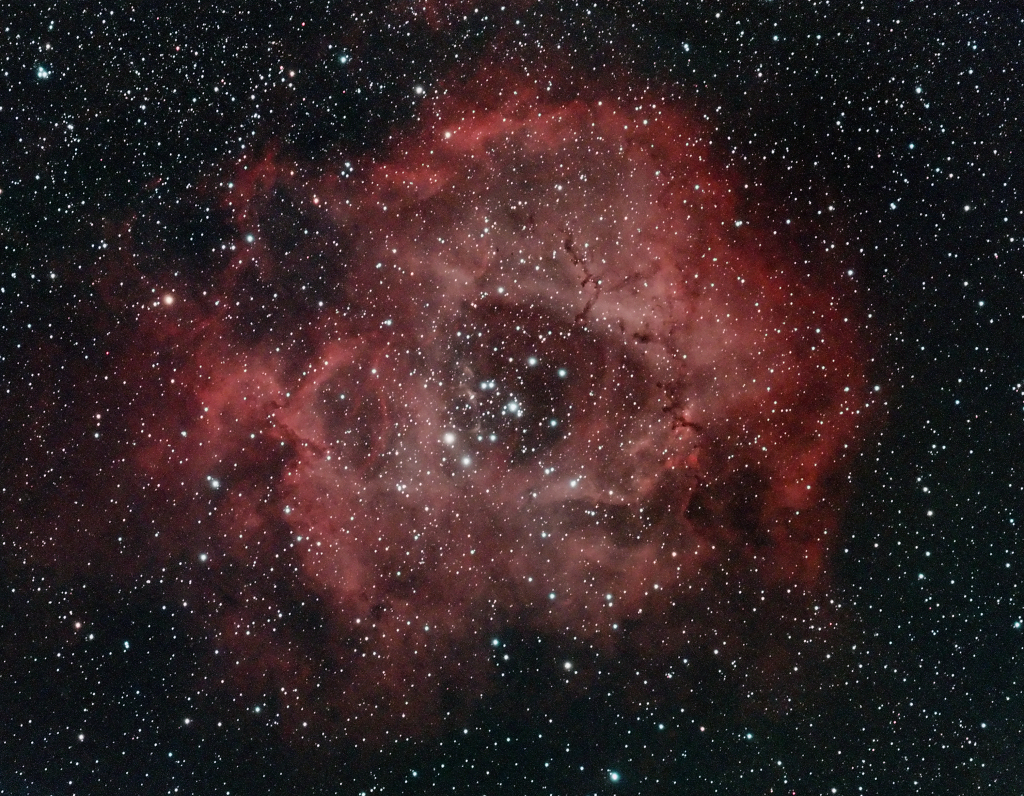 2013-02-14 - NGC2244/Rosette - All Lights Combined