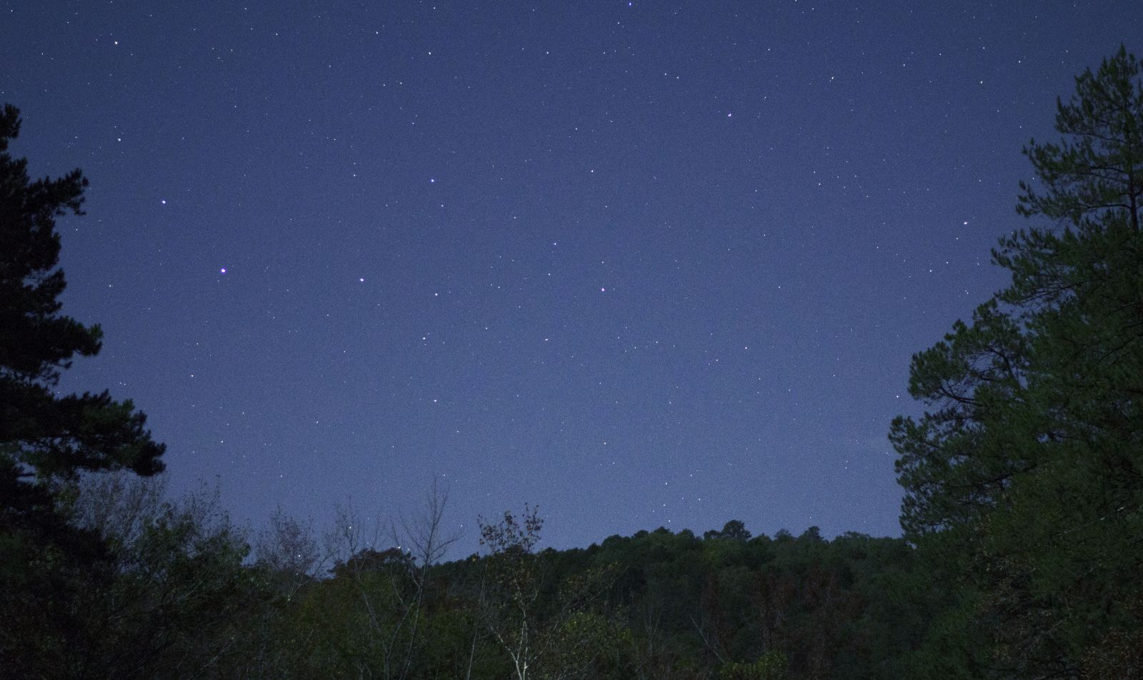 First shot Of The night Sky