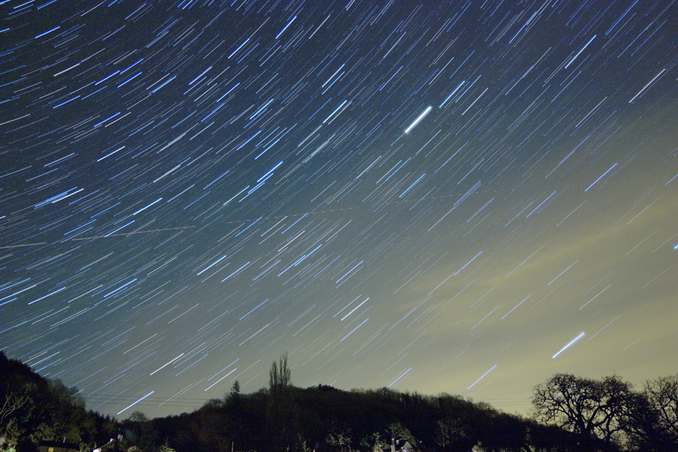 SGL8 Star trails