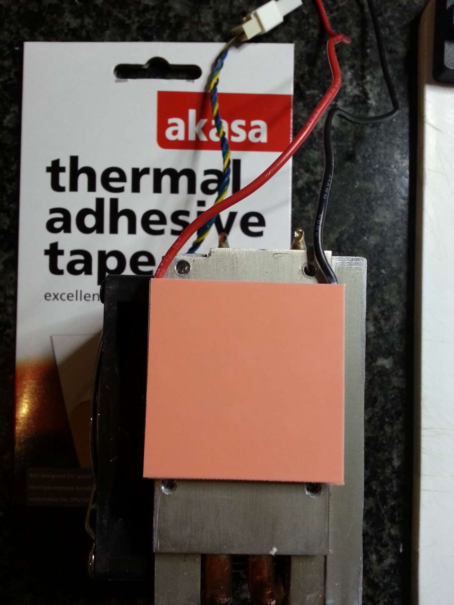 Non Sticky thermal adhesive tape - don't buy this