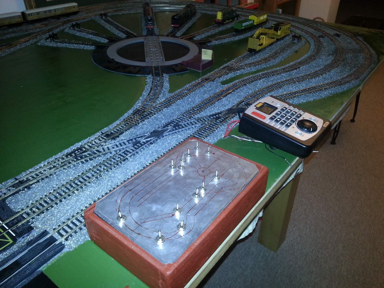 Position for Fat Controller