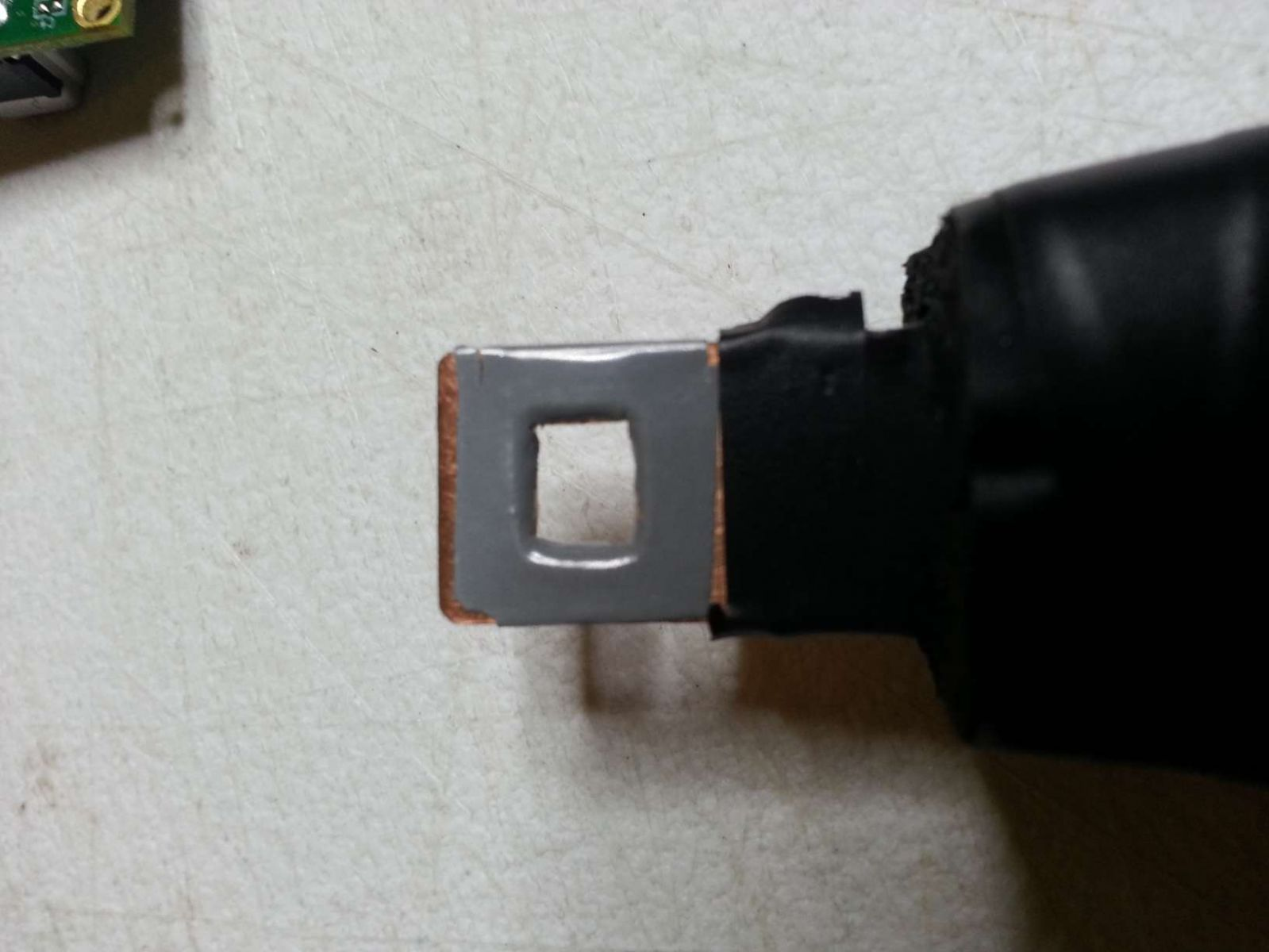 HS Tip rear with thermal pad 0.5mm