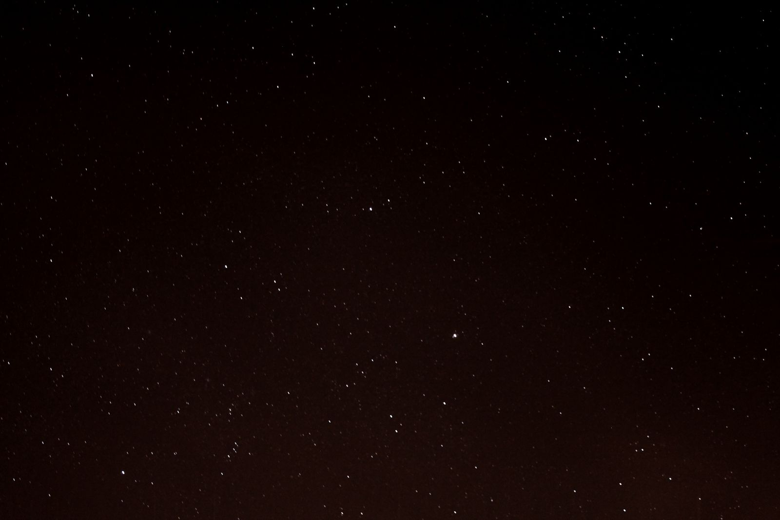 Auriga with M36, M37 and M38 Just Visible