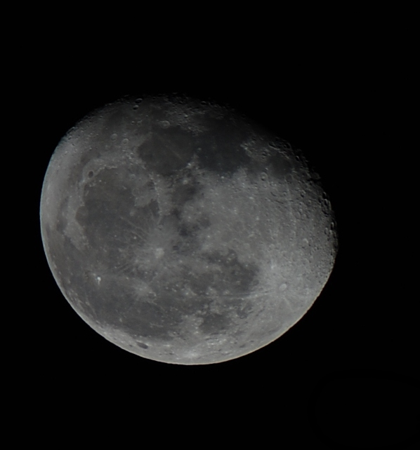 The first time I put a telescope and a camera together