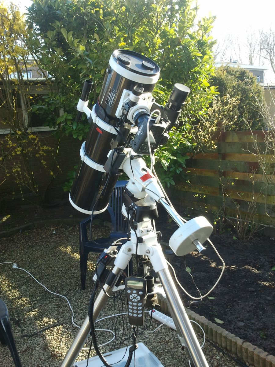 Skywatcher 150pds on EQ5 Pro Synscan