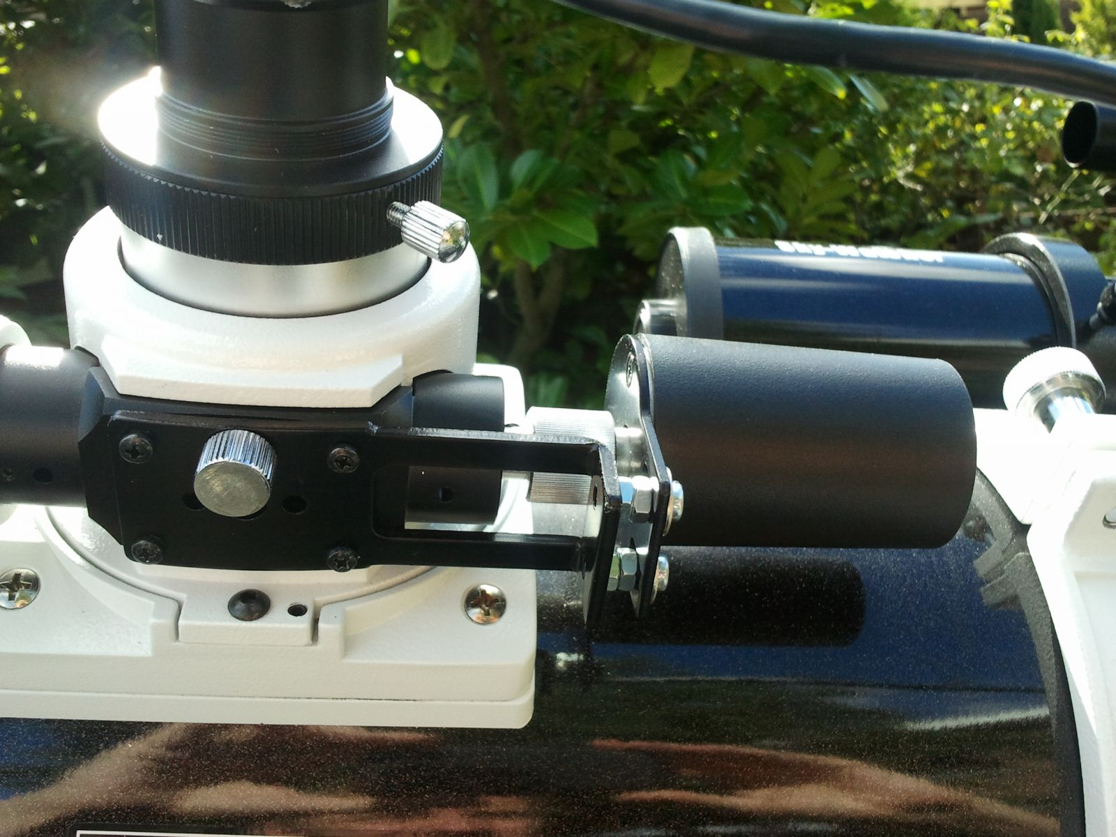 Auto focuser in place