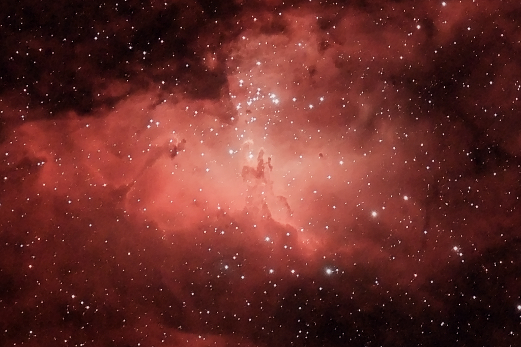 2013_05_05 - M16 - Eagle Nebula - 1024 Crop