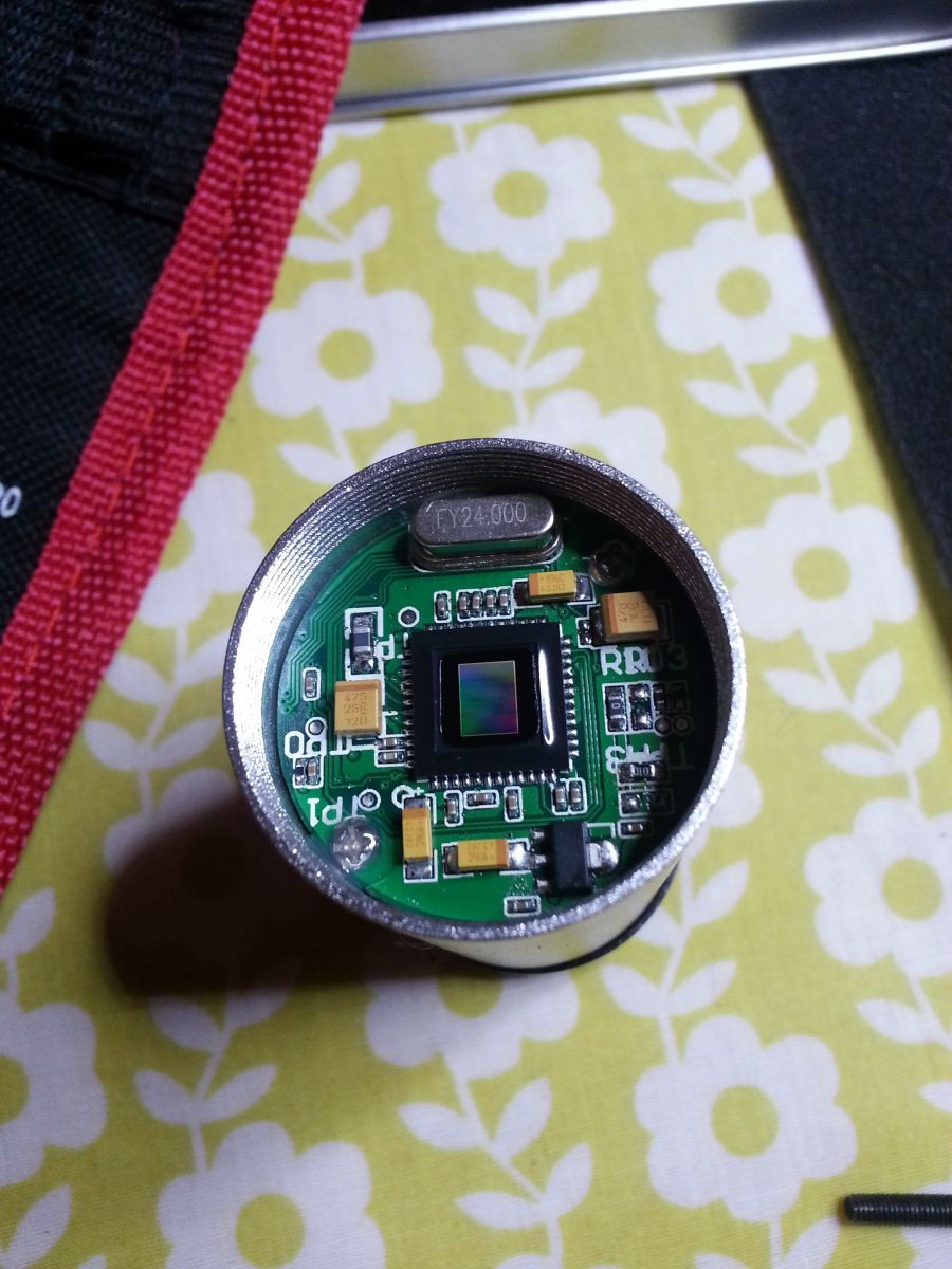 Front View of Sensor Board (Cover Removed)