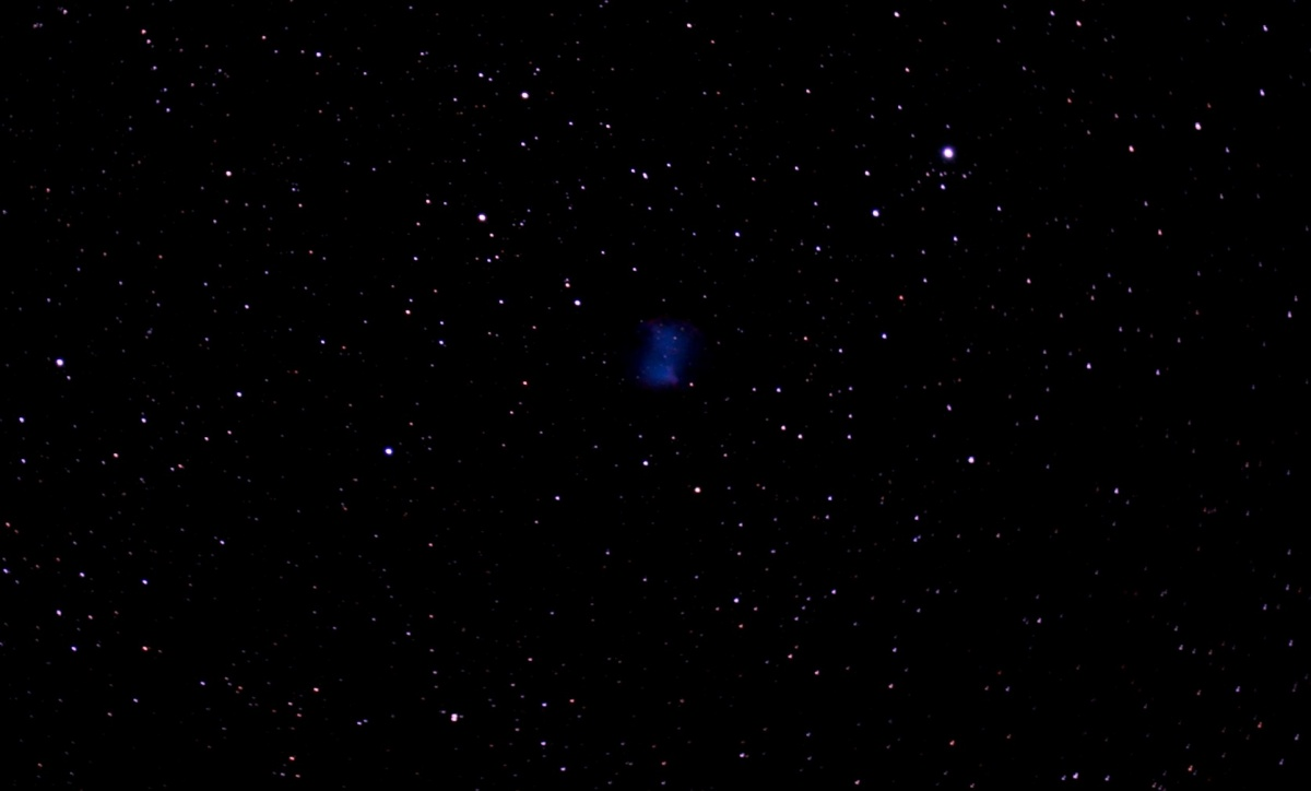 17 x53 second subs unguided. Unmodded Canon EOS300D. C80ED with WOFFII. Processing with nebulosity